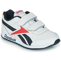 Sko Børn Lave sneakers Reebok Classic REEBOK ROYAL CLJOG 2 2V Hvid / Marineblå / Rød