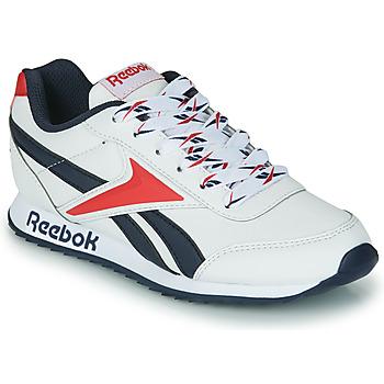 Sko Børn Lave sneakers Reebok Classic REEBOK ROYAL CLJOG 2 Hvid / Marineblå / Rød