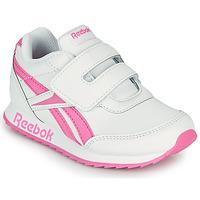 Sko Pige Lave sneakers Reebok Classic REEBOK ROYAL CLJOG 2 KC Hvid / Pink