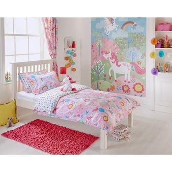 Indretning Børn Dynebetræk Riva Home Taille 1: Lit bébé Pink