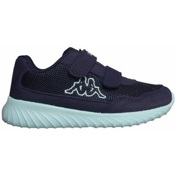 Sko Børn Lave sneakers Kappa Cracker II BC K Azurblå,Flåde