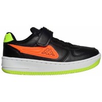 Sko Børn Lave sneakers Kappa Bash PC K Sort, Grøn, Orange