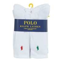 Accessories Herre Strømper Polo Ralph Lauren ASX110 6 PACK COTTON Hvid