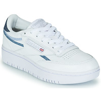 Sko Dame Lave sneakers Reebok Classic CLUB C DOUBLE Hvid / Blå
