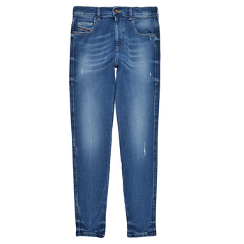 textil Pige Jeans - skinny Diesel D-SLANDY HIGH Blå