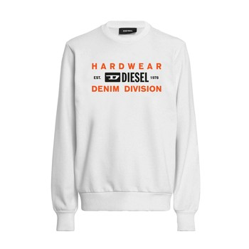 textil Dreng Sweatshirts Diesel SGIRKK10 Hvid