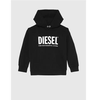 textil Børn Sweatshirts Diesel SDIVISION LOGO Sort