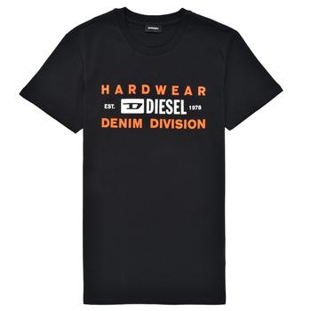 textil Dreng T-shirts m. korte ærmer Diesel TDIEGOSK32 Sort