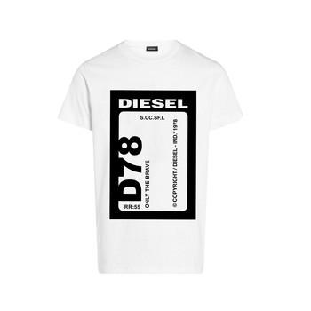 textil Dreng T-shirts m. korte ærmer Diesel TFULL78 Hvid