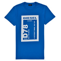 textil Dreng T-shirts m. korte ærmer Diesel TFULL78 Blå