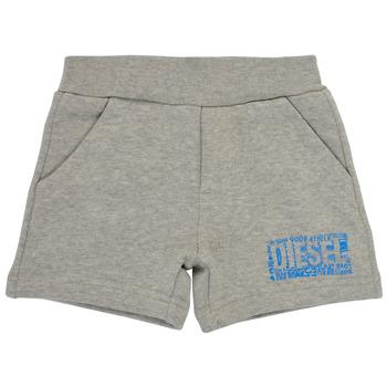 textil Dreng Shorts Diesel POSTYB Grå