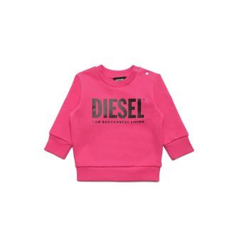 textil Pige Sweatshirts Diesel SCREWDIVISION LOGOB Pink