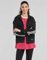 textil Dame Sweatshirts adidas Performance W Knit V Hoodie Sort