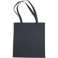 Tasker Dame Shopping Bags By Jassz 3842LH Dark Grey