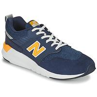 Sko Dreng Lave sneakers New Balance YS009 Blå