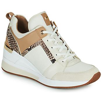 Sko Dame Lave sneakers MICHAEL Michael Kors GEORGIE TRAINER Beige