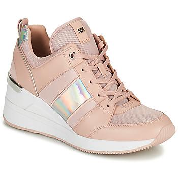 Sko Dame Lave sneakers MICHAEL Michael Kors GEORGIE TRAINER Pink