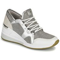 Sko Dame Lave sneakers MICHAEL Michael Kors LIV TRAINER Sølv