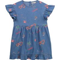 textil Pige Korte kjoler Billieblush / Billybandit U12640-Z10 Blå