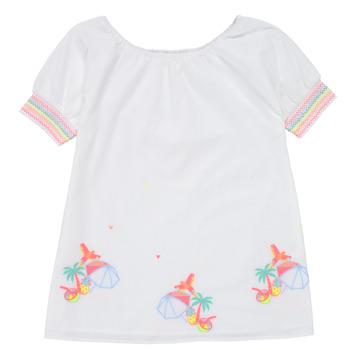 textil Pige Korte kjoler Billieblush / Billybandit U12657-10B Hvid