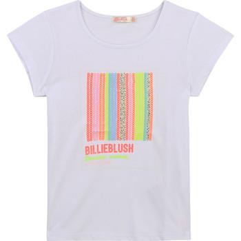 textil Pige T-shirts m. korte ærmer Billieblush / Billybandit U15857-10B Hvid