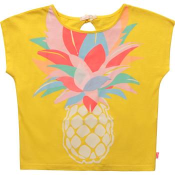 textil Pige T-shirts m. korte ærmer Billieblush / Billybandit U15873-548 Gul