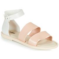 Sko Dame Sandaler Melissa MELISSA MODEL SANDAL Hvid / Pink