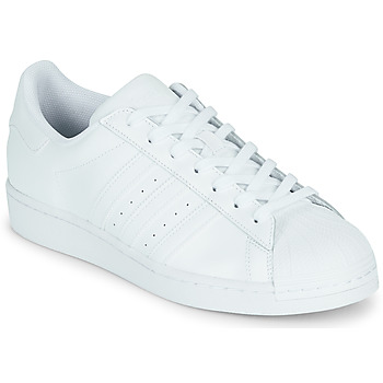 Sko Lave sneakers adidas Originals SUPERSTAR Hvid