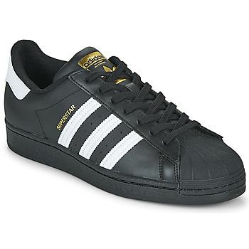 Sko Lave sneakers adidas Originals SUPERSTAR Sort / Hvid