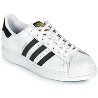 Sko Lave sneakers adidas Originals SUPERSTAR Hvid / Sort