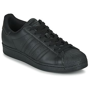 Sko Lave sneakers adidas Originals SUPERSTAR Sort