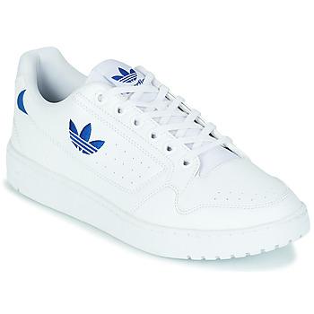 Sko Lave sneakers adidas Originals NY 92 Hvid / Blå