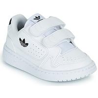 Sko Børn Lave sneakers adidas Originals NY 92 CF I Hvid / Sort