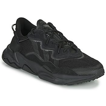 Sko Lave sneakers adidas Originals OZWEEGO Sort