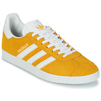Sko Lave sneakers adidas Originals GAZELLE Gul