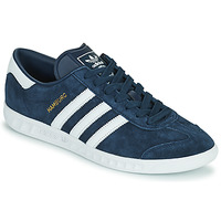 Sko Herre Lave sneakers adidas Originals HAMBURG Marineblå