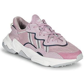 Sko Dame Lave sneakers adidas Originals OZWEEGO W Violet