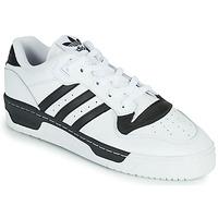Sko Lave sneakers adidas Originals RIVALRY LOW Hvid / Sort