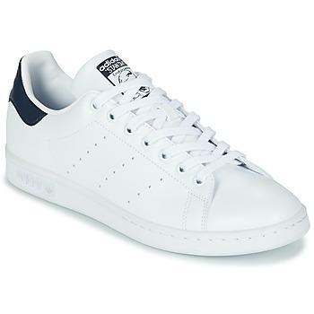 Sko Lave sneakers adidas Originals STAN SMITH SUSTAINABLE Hvid / Marineblå