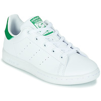 Sko Børn Lave sneakers adidas Originals STAN SMITH C SUSTAINABLE Hvid / Grøn
