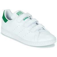 Sko Lave sneakers adidas Originals STAN SMITH CF SUSTAINABLE Hvid / Grøn
