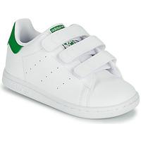 Sko Børn Lave sneakers adidas Originals STAN SMITH CF I SUSTAINABLE Hvid / Grøn