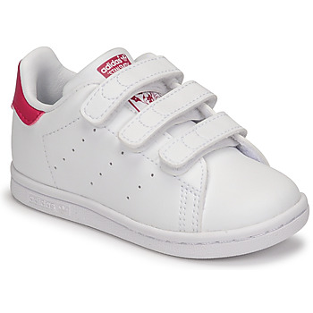 Sko Pige Lave sneakers adidas Originals STAN SMITH CF I SUSTAINABLE Hvid / Pink