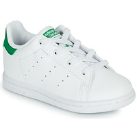 Sko Børn Lave sneakers adidas Originals STAN SMITH EL I SUSTAINABLE Hvid / Grøn