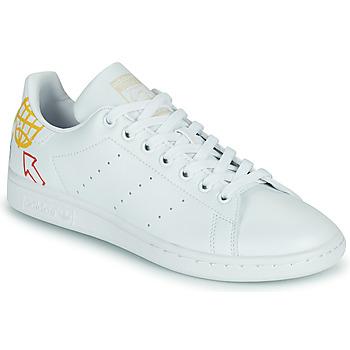 Sko Dame Lave sneakers adidas Originals STAN SMITH W SUSTAINABLE Hvid / Flerfarvet