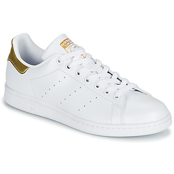 Sko Dame Lave sneakers adidas Originals STAN SMITH W SUSTAINABLE Hvid / Guld