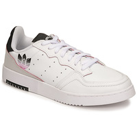 Sko Dame Lave sneakers adidas Originals SUPERCOURT Hvid