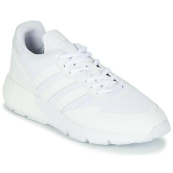 Sko Lave sneakers adidas Originals ZX 1K BOOST Hvid