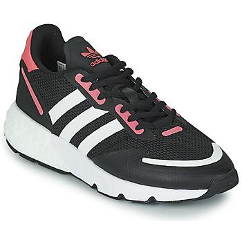 Sko Dame Lave sneakers adidas Originals ZX 1K BOOST W Sort / Pink