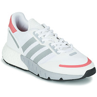 Sko Dame Lave sneakers adidas Originals ZX 1K BOOST W Hvid / Pink